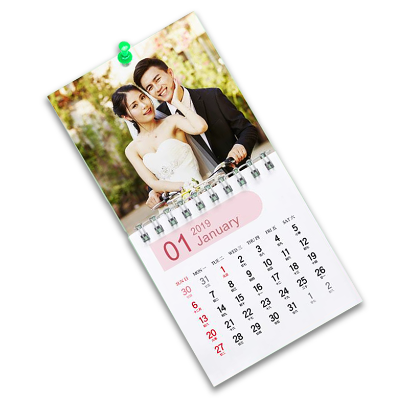 個人化迷你掛曆 (90x90mm)