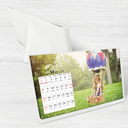 6R Size Photo Frame Style Calender