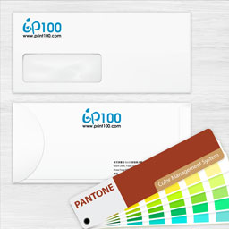 Envelope with Pantone printing