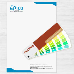 Letterhead with Pantone printing