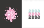 Print100 Desk CalendarA019