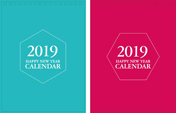 Print100 Desk CalendarA032