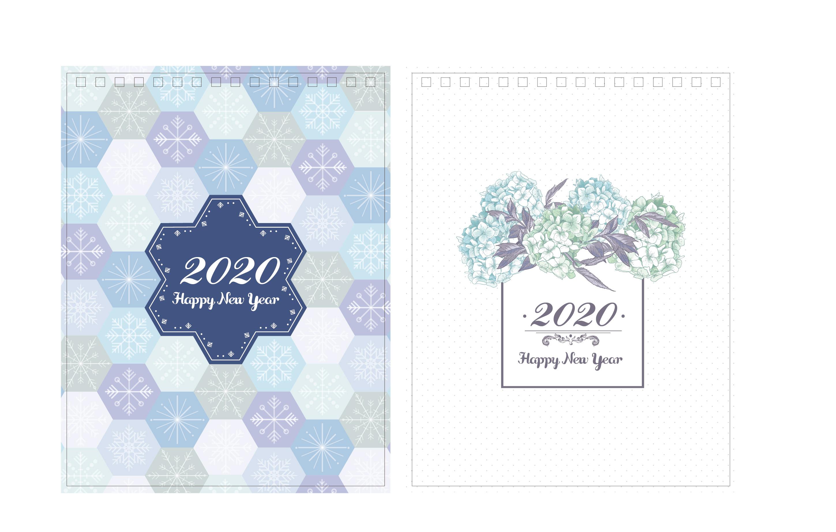 Print100 Desk CalendarA002
