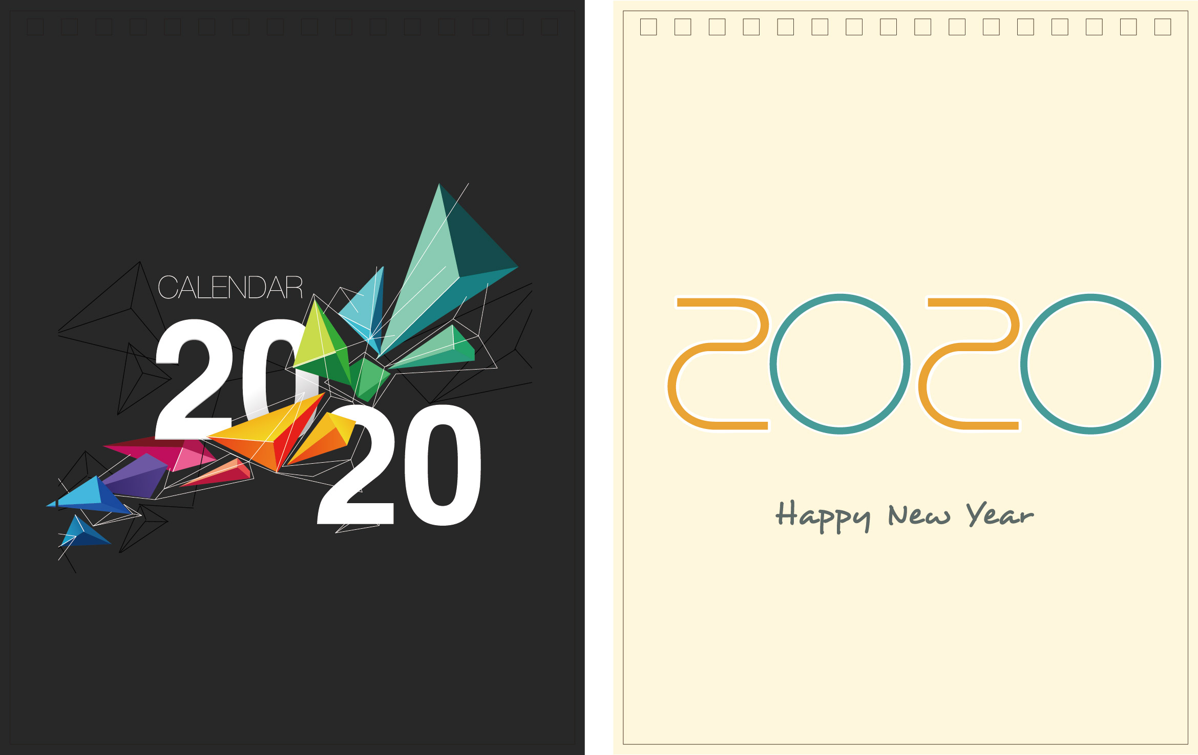 Print100 Desk CalendarA007