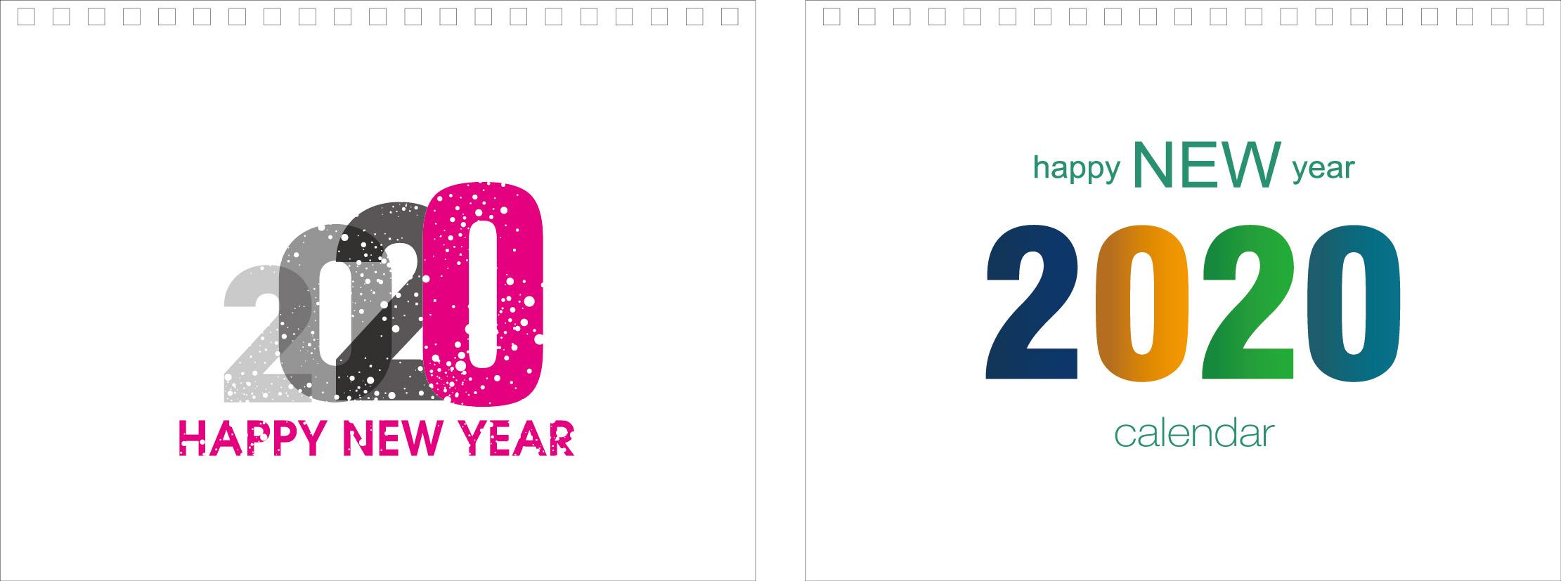 Print100 Desk CalendarB004