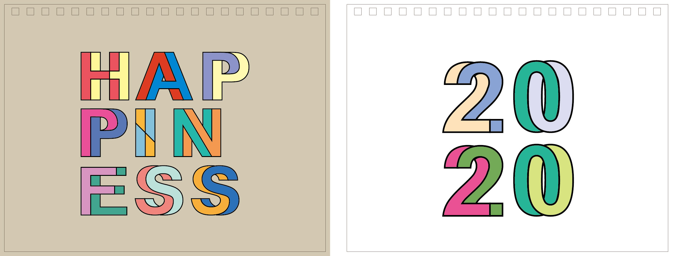 Print100 Desk CalendarB008