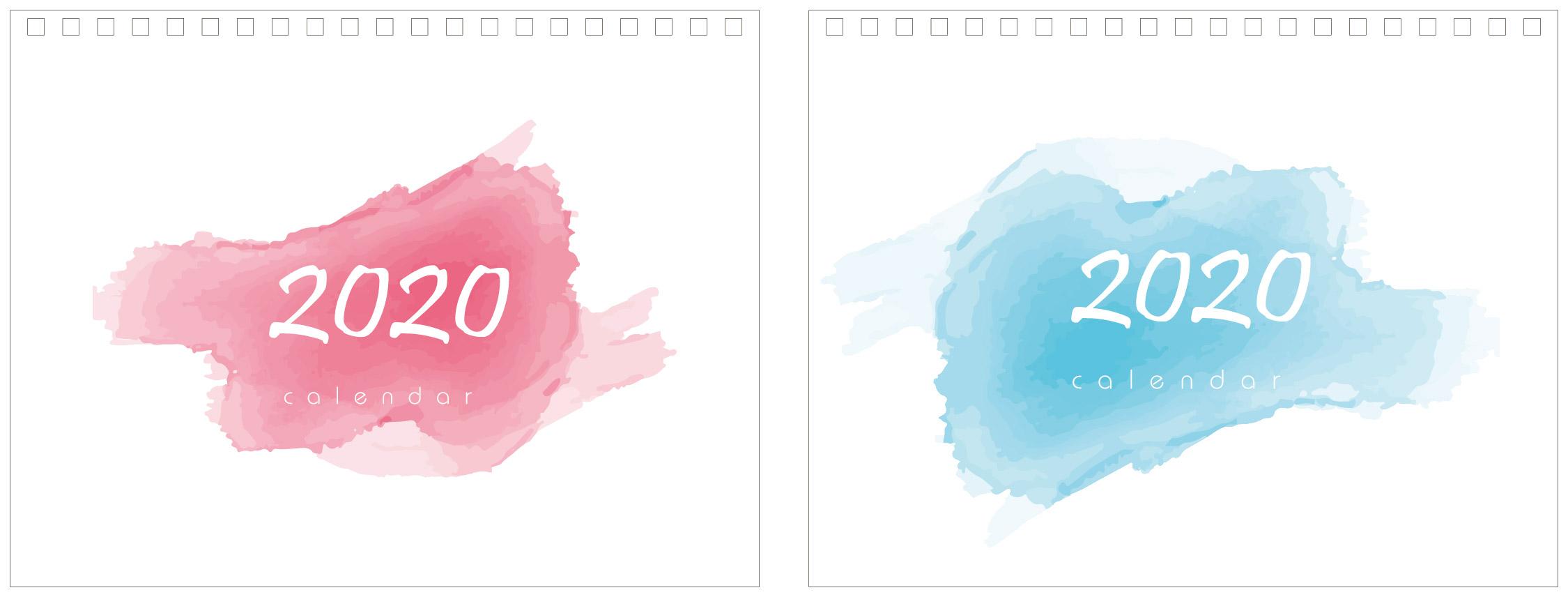 Print100 Desk CalendarB015