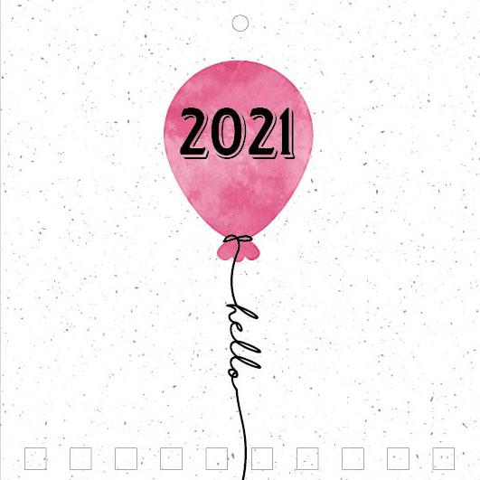 Mini Wall Calendar Cover Design: CC 024