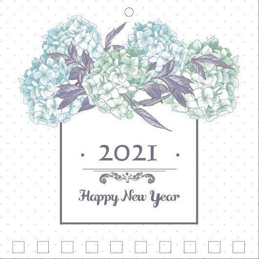 Mini Wall Calendar Cover Design: CC 026