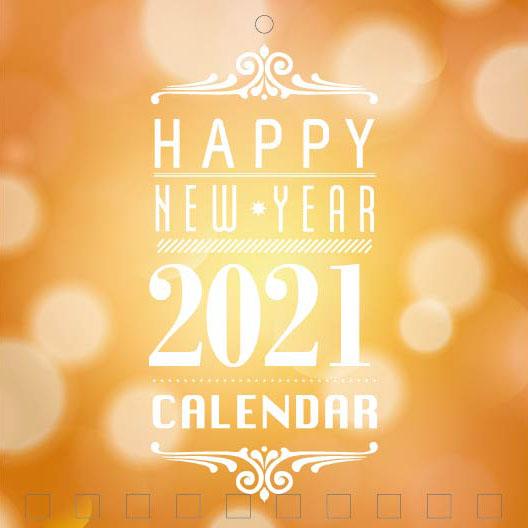Mini Wall Calendar Cover Design: CC 044