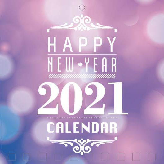 Mini Wall Calendar Cover Design: CC 046
