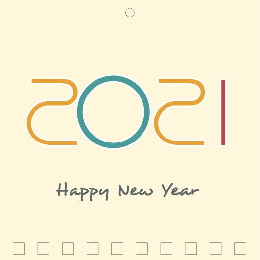 Mini Wall Calendar Cover Design: CC 047