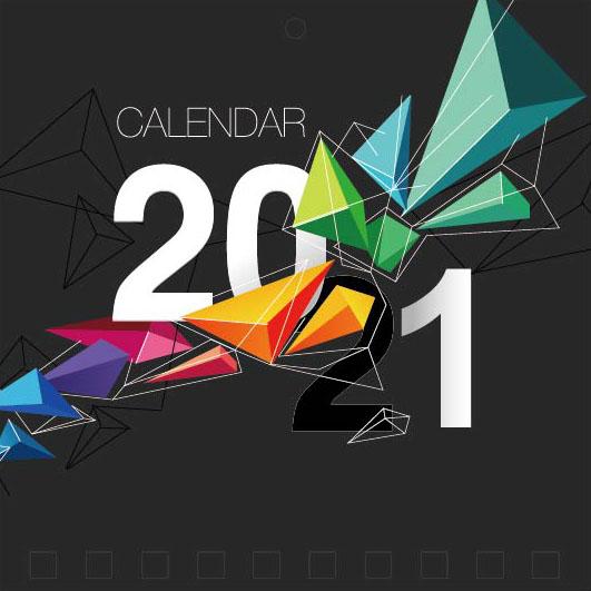 Mini Wall Calendar Cover Design: CC 048