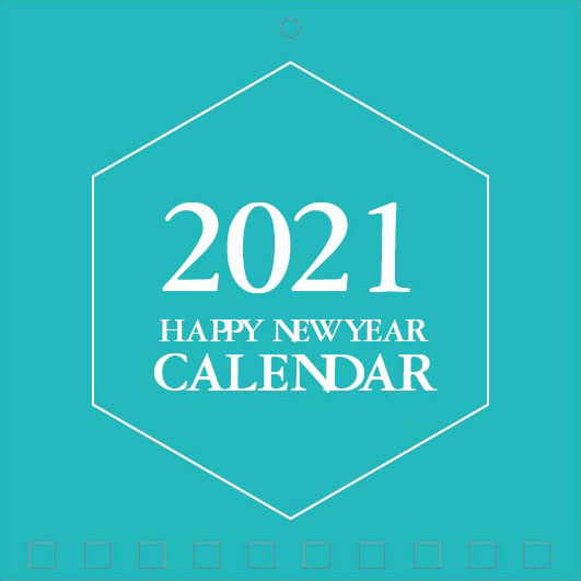Mini Wall Calendar Cover Design: CC 050
