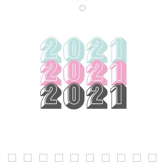 Mini Wall Calendar Cover Design: CC 068