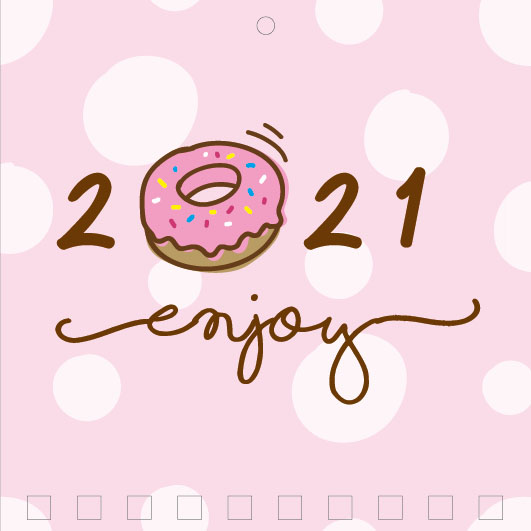 Mini Wall Calendar Cover Design: CC 069
